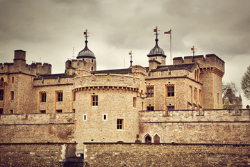 The Tower of London, the UK. The historic Fortress