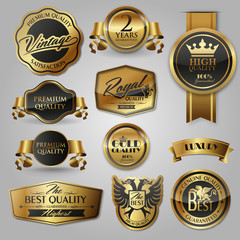 gold labels