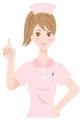 提案する看護婦