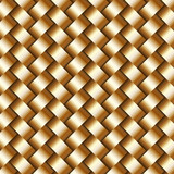 Vector abstract metallic wickerwork pattern