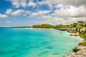 Coast of Barbados and Torquoise Sea