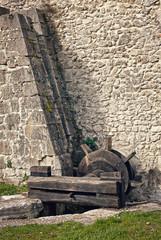 resti di un vecchio mulino ad acqua