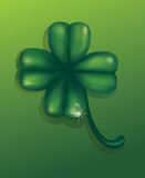 Green clover. St. Patrick's  day.
