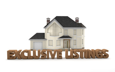 Real Estate Exclusive Listings