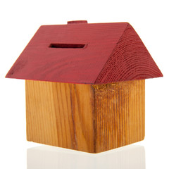 House as piggy bank