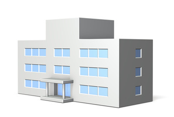 Architectural models of school