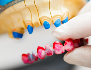 Dental Technician Working