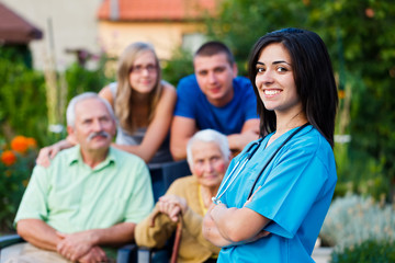 Welcoming Nursing Home Carer