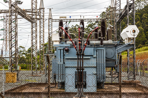 Electrical Sub-Station Transformer Unit