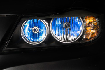 Car xenon headlights