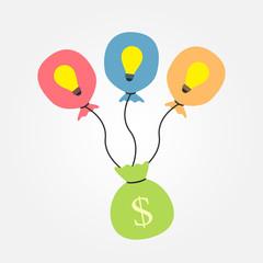 idea balloon