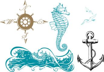 Nautical design elements