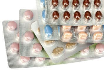 plaquettes de compléments alimentairess