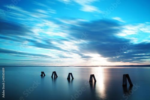 Ocean Sunset|61565689