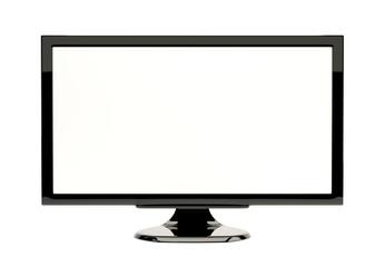 lcd tv monitor. Modern computer blank screen