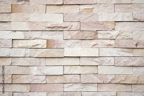 background of sand stone wall
