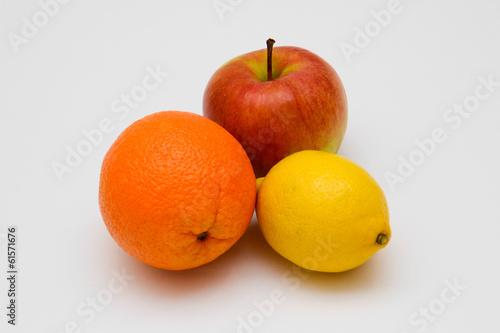 Постер, плакат: фрукты, холст на подрамнике