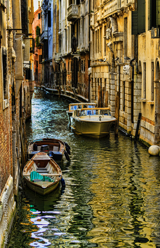 Obraz na Szkle Venice, Italy - Grand Canal and historic tenements