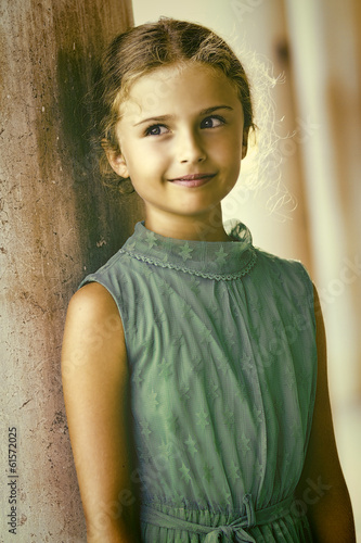 Venice, Italy - portrait of lovely girl
