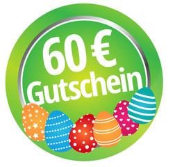 60 € Rabatt