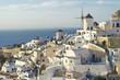 Obrazy na płótnie, fototapety, zdjęcia, fotoobrazy drukowane : Windmill on Santorini Island