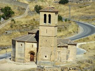 iglesia romanica de la vera cruz en segovia