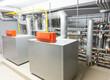 Boiler-house indoor shot. Heating system - 61574240