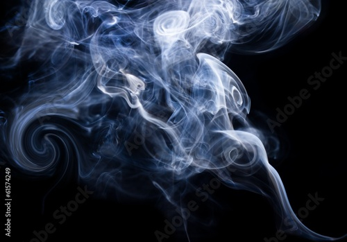 canvas print picture smoke