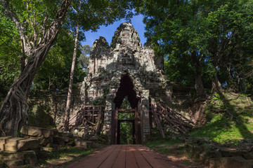 Angkor Thom in Siem Reap, Cambodia