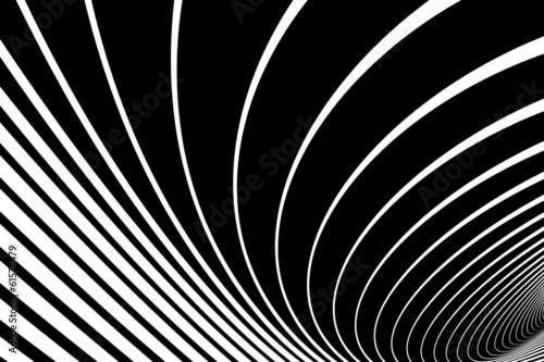 Abstract twisting lines background.
