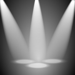 studio and rays of light. background floodlit.vector