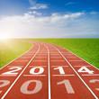 2014 on Running Track