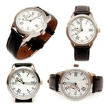 Group of men mechanical watches