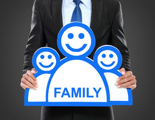 work and family concept