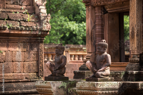 Banteay Srey Temple  in Sieam Reap, Cambodia