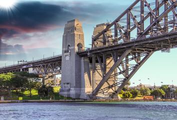 Stunning view of Harbour Bridge in Sydney - Australia