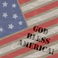 God Bless America 4th July Background