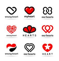 Vector Hearts (2)