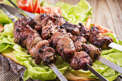 Papiers peints Grill, Barbecue Lamm Kebab