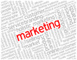 """MARKETING"" Tag Cloud (advertising branding products strategy)"