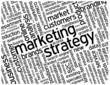 """MARKETING STRATEGY"" Tag Cloud (advertising branding management)"
