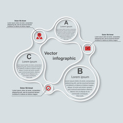 Modern infographic. Design elements. Vector illustration.