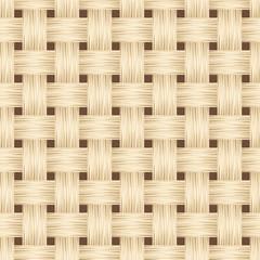 Wicker texture. Vector seamless background.