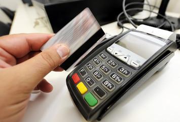 Pin number credit card