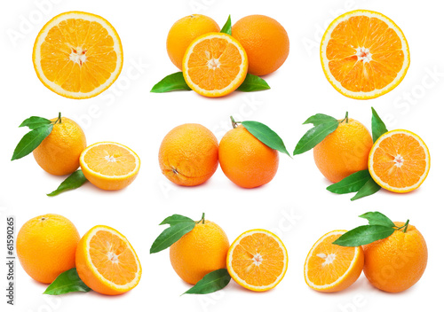 canvas print picture Oranges