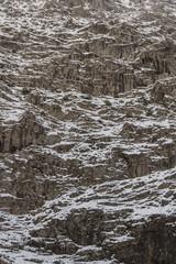 Fondo Textura  Montaña nevada