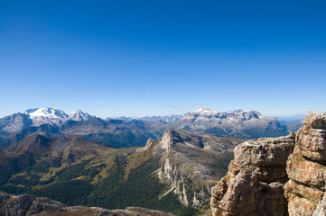 Marmolata und Sellagruppe - Dolomiten - Alpen