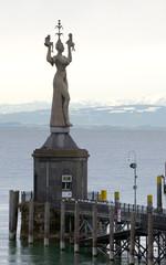 Imperia - Konstanz - Hafen - Bodensee