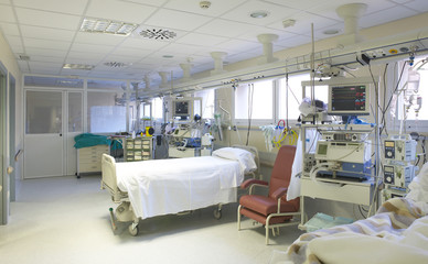 Hospital surgery room medical control and exploration