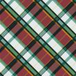 Checkered diagonal tartan seamless texture